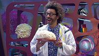 Mes de la Ciencia - La palomita gigante