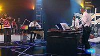 Neo percusión y ara malikian: