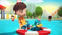 Quack's pop-up birthday