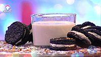 Receta Exprés - Falso desayuno de leche con galletas