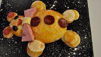 Receta Exprés - Pizza de oso
