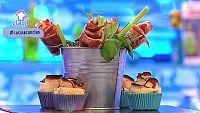 Receta Exprés - Ramo de rosas de jamón ibérico