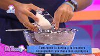 Truco - Tamizar los cupcakes para que queden esponjosos