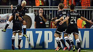 Golazo de Griezmann en Gerland (0-1)
