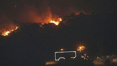 Dos incendios obligan a desalojar sendos municipios de Zamora y Salamanca