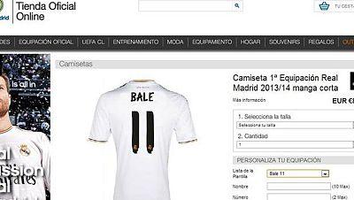 Bale, un fichaje de 91 millones que ya tiene camiseta