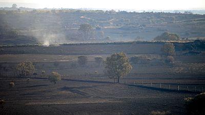 El incendio en Zamora sigue activo después de calcinar más de 1.000 hectáreas