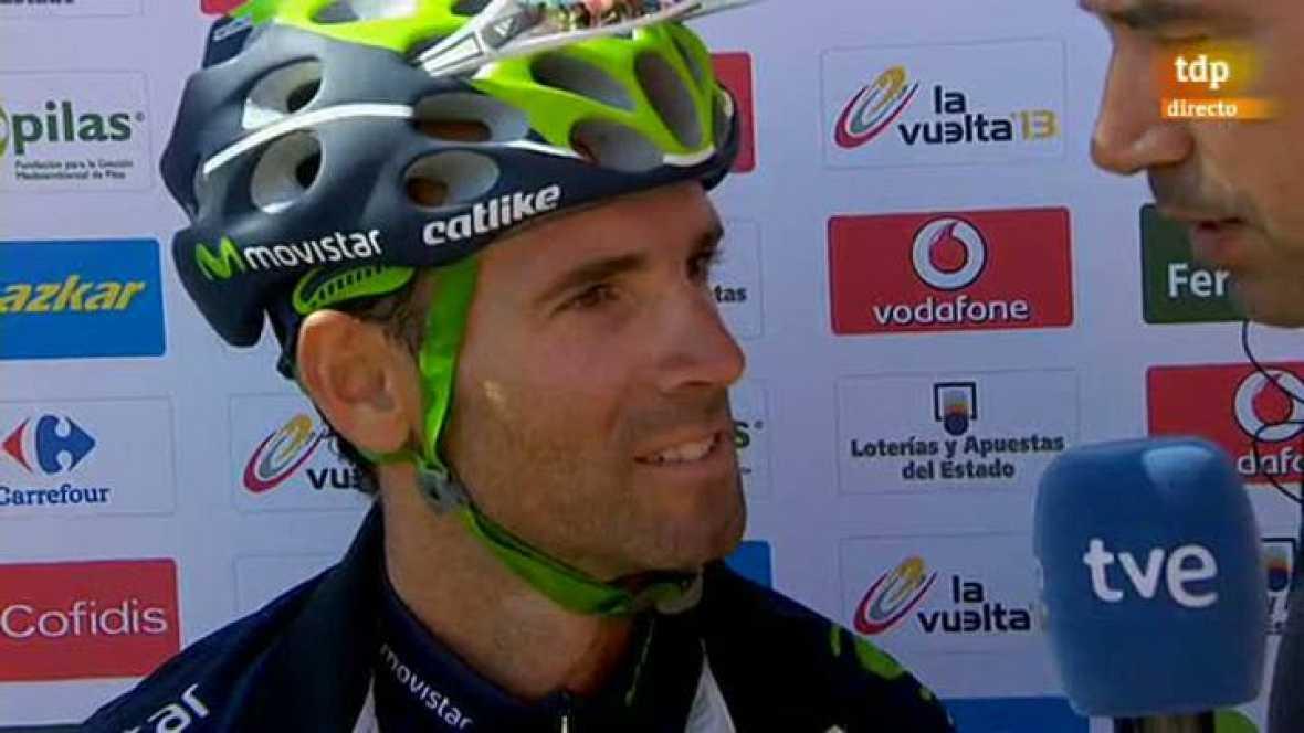 "Alejandro Valverde: ""En todo momento he estado delante"""