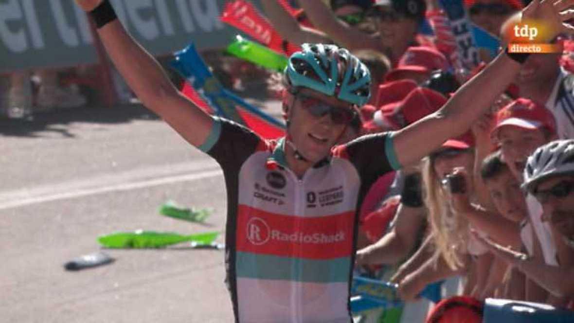 Vuelta ciclista a España 2013 - 3ª etapa: Vigo - Mirador de Lobeira - Vilagarcía de Arousa - ver ahora