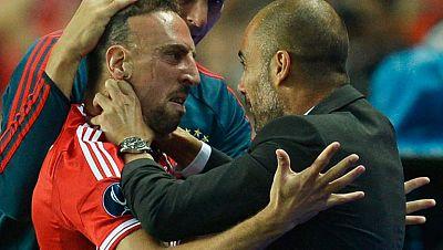 Ribéry iguala de un duro disparo (1-1)