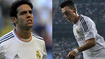 El Real Madrid tiene prácticamente cerradas las salidas de Kaká al Milan y Özil al Arsenal, que podría pagar cerca de 50 millones de euros por el jugador alemán.