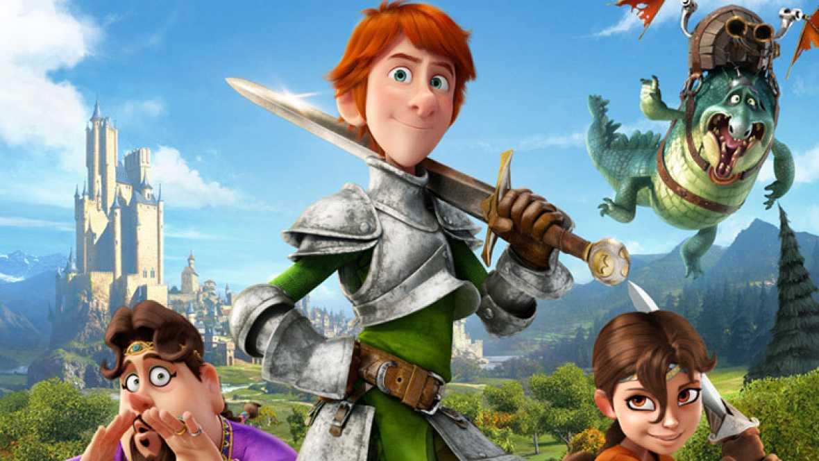 RTVE.es os ofrece un clip de 'Justin y la espada del Valor, en primicia