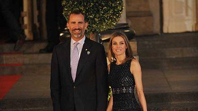 Los príncipes de Asturias encabezaron la gala inaugural de a 125 sesión del COI