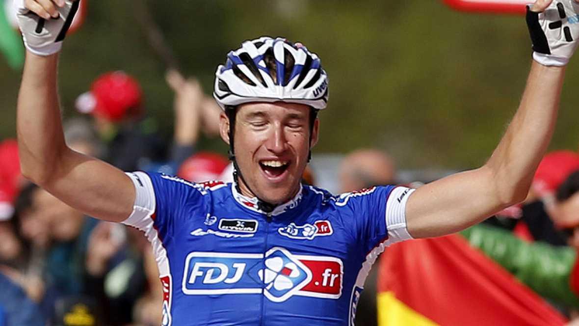 El francés Geniez ha ganado la etapa reina de la Vuelta a España 2013, con final en Peyragudes, en homenaje al Tour de Francia.