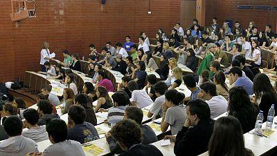 Cerca de 40.000 alumnos se examinan de selectividad en septiembre