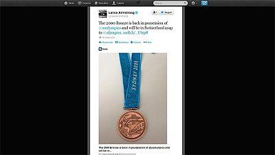 Armstrong devuelve el bronce que logró en Sidney 2000