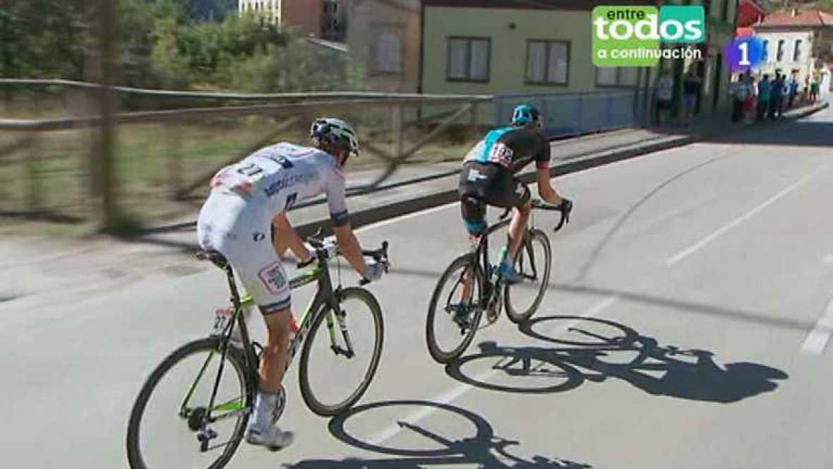 Vuelta ciclista a España 2013 - 19ª etapa: San Vicente de la Barquera - Oviedo. Alto Naranco - Ver ahora