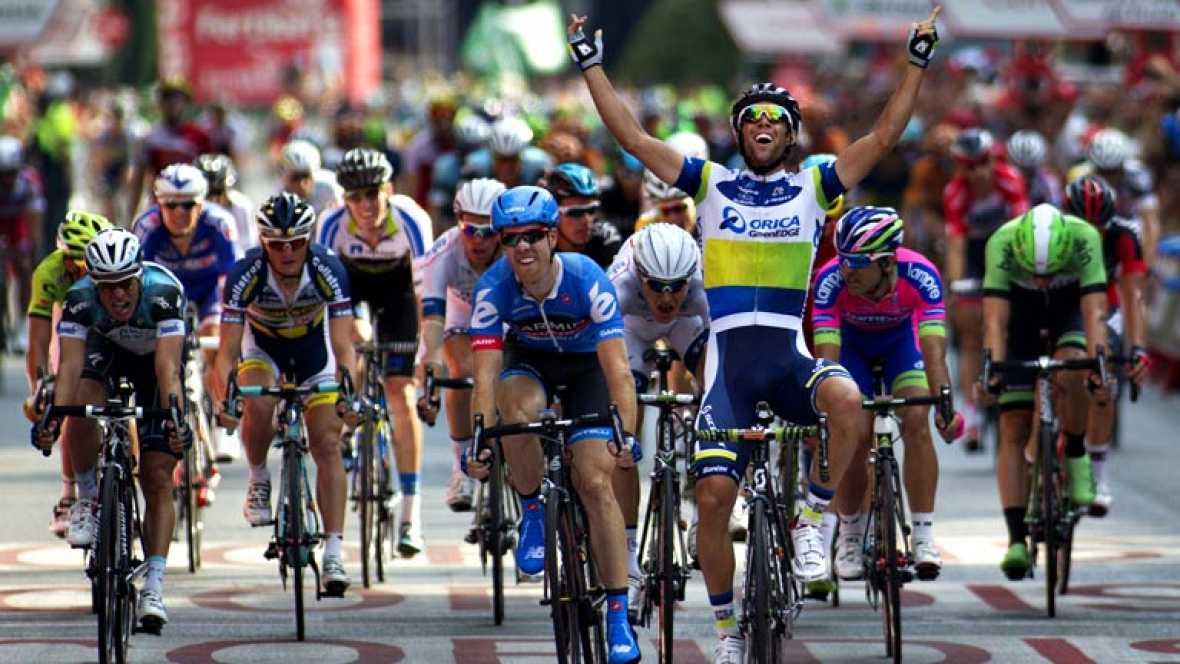 El ciclista australiano Michael Matthews (Orica GreenEdge) ha  vencido en la última etapa de la Vuelta a España, celebrada sobre  109.6 kilómetros entre las localidades de Leganés y Madrid, mientras  que el estadounidense Chris Horner (RadioShack) se
