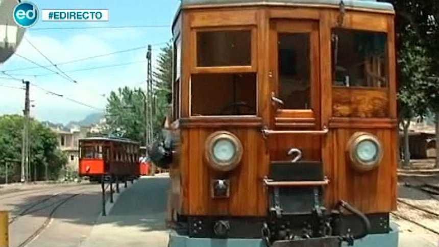 España Directo- Nos subimos al tren de Mallorca