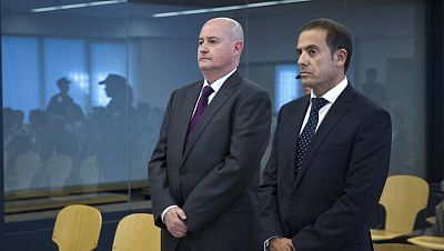 Dos policías declaran en la segunda sesión del juicio por el caso Faisán