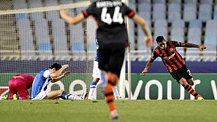 La Real puso el juego y Teixeira los goles en la victoria del Shakhtar