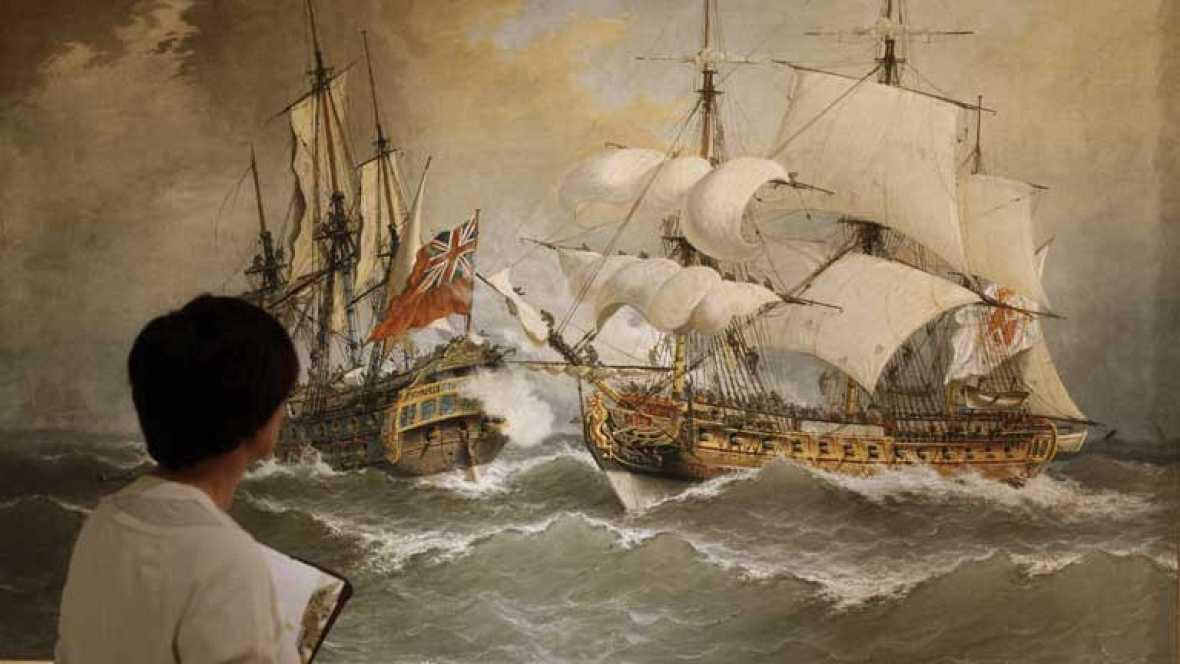 Una exposición en el Museo Naval reconoce el valor del almirante Blas de Lezo