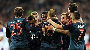 El Bayern de Guardiola golea al CSKA de Moscú