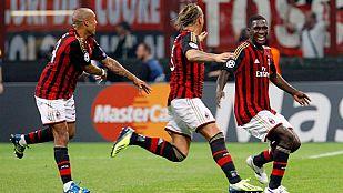 El Milan debuta con buen pie ante Celtic (2-0)