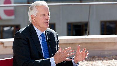 """Michel Barnier: """"Aún no hemos ganado a la crisis, hay que estar vigilantes"""""""