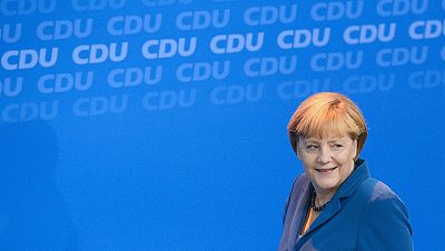 """Merkel celebra su victoria electoral: """"Ha sido un gran resultado"""""""