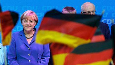 Merkel, satisfecha con los resultados de las elecciones federales