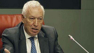 García Margallo felicita a Angela Merkel por su victoria electoral