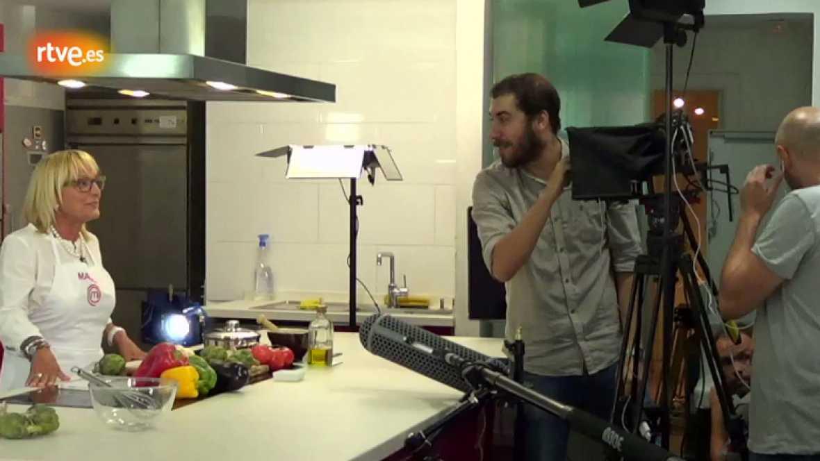 MasterChef - Así se hizo el vídeo promocional de 'El diario de recetas de Maribel'