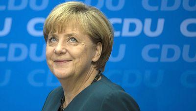 Angela Merkel da un primer paso para encontrar un socio de Gobierno