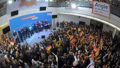 Europa, pendiente del nuevo gobierno alemán