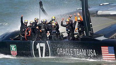 El 'Oracle Team USA' culminó este miércoles el milagro y conquistó  la 34 edición de la Copa América tras batir al 'Emirates Team New  Zealand, cuyo sueño se convirtió finalmente en pesadilla tras perder  un 'match' más, el undécimo y octavo consecut