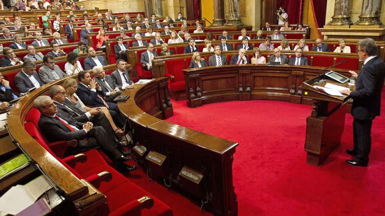 Resultado de imagen de parlamento de cataluña