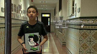 Página 2 - Miniclub de lectura - 10 Años con Mafalda, por Alberto Masa