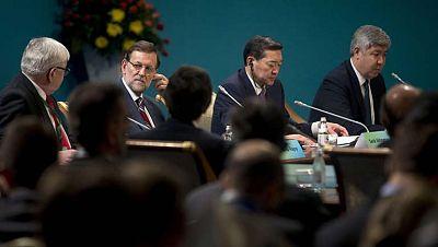 Mariano Rajoy aprovecha para lanzar un mensaje al presidente de la Generalitat desde Kazajistán