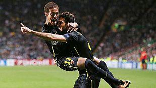 El Barça logra un importante triunfo en Glasgow