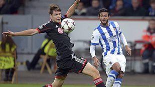 La Real se complica en Leverkusen