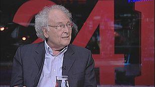 """Eduard Punset, en 'La Noche en 24h': """"Vivimos en un mundo que había negado la intuición"""""""