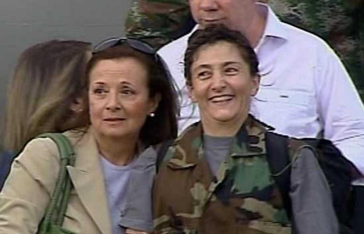 Primeras imágenes de Ingrid Betancourt tras su liberación