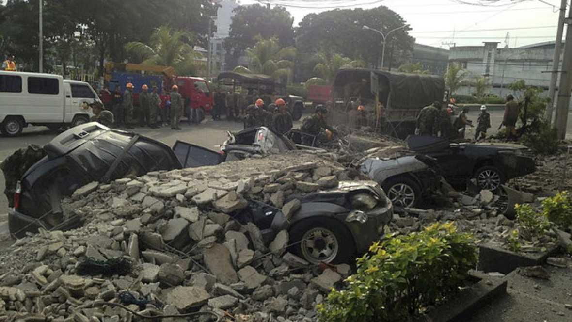 El terremoto en Filipinas deja al menos 93 víctimas mortales