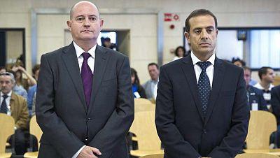 Condenas de año y medio a los dos policías por revelar secretos a ETA
