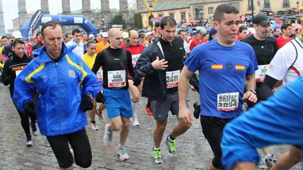 A la carrera - Media Maratón Ciudad de Segovia - Ver ahora