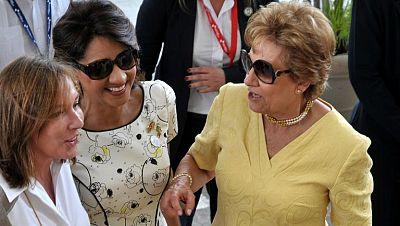 Las primeras damas iberoamericanas acuden a una conferencia sobre autismo