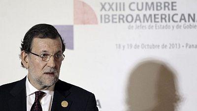 """Mariano Rajoy: """"Los indicadores apuntan que la recuperación está ahí"""""""
