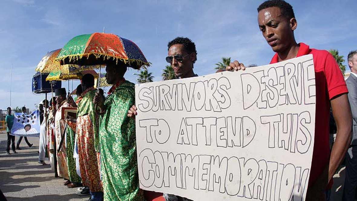 Italia despide a los muertos del naufragio de Lampedusa con un funeral sin féretros ni familias