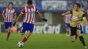 El Atlético de Madrid pisa fuerte en la Champions